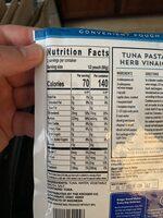 Wild Caught Light Tuna - Voedingswaarden - en