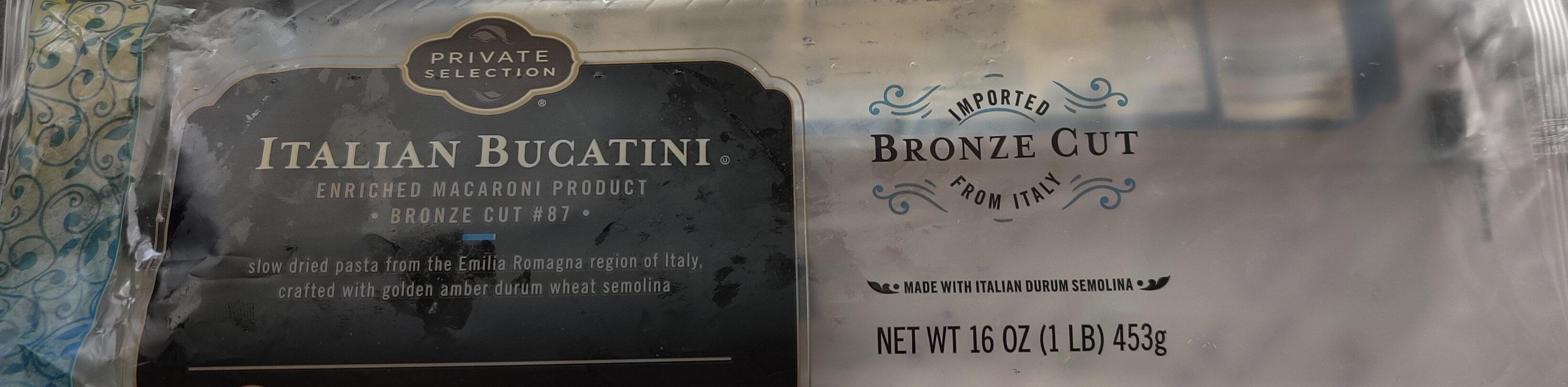 Italian Bucatini (pasta) - Product - en