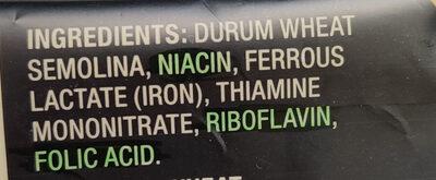 Italian Bucatini (pasta) - Ingredients - en