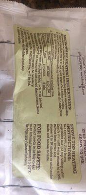 Haricot vert - Ingrediënten
