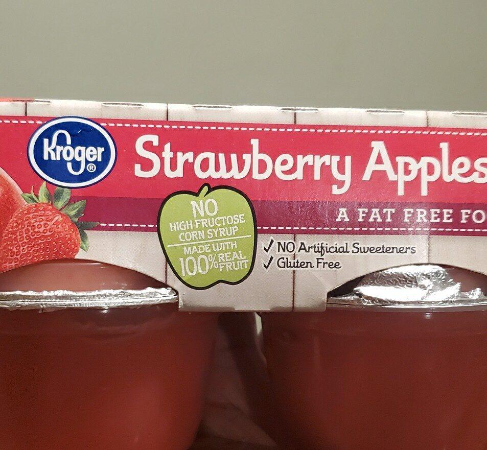 Kroger strawberry applesauce - Product - en