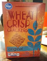 Kroger Baked Wheat Crisp Crackers - Product - en