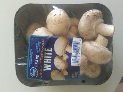 Whole White Mushrooms - Produit - en