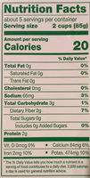 Baby Spinach - Nutrition facts