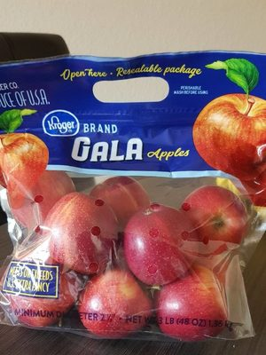 Gala apples - Product - fr