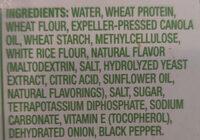 Emerge Plant based chick'n grind - Ingredients - en