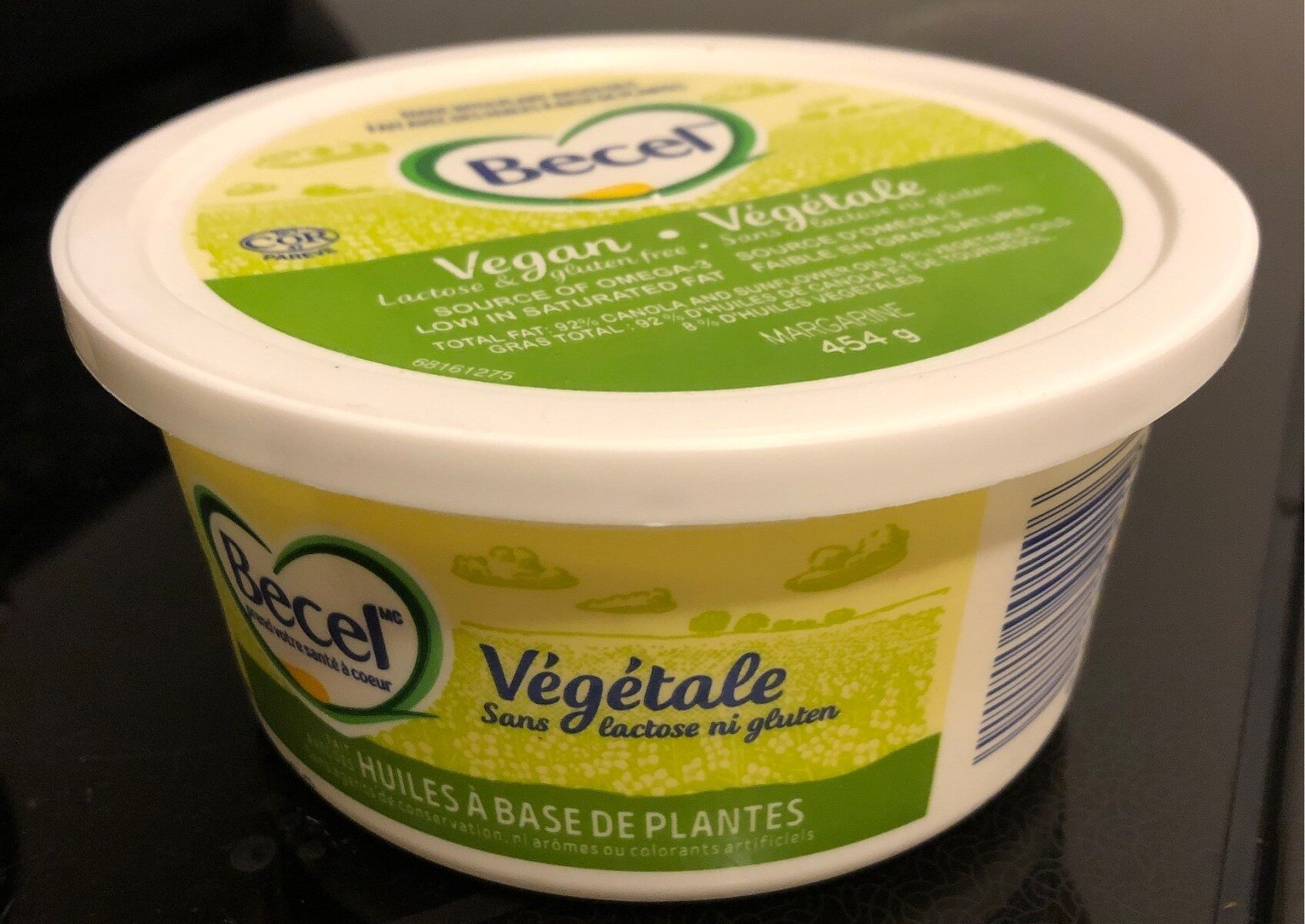 Margarine végétale - Produit - fr