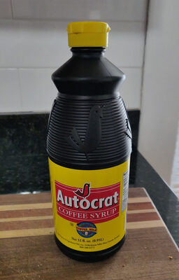 Coffee Syrup - Product