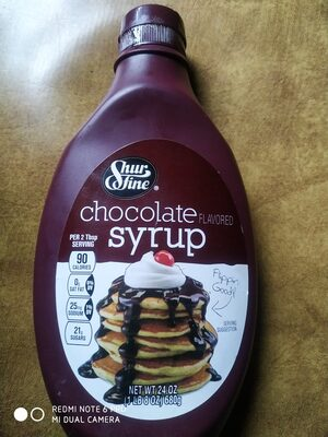 chocolate syrup - 1