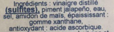 Green Pepper Sauce - Ingrédients - fr