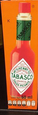 Tabasco Salsa picante - Produit