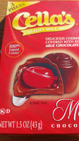 Cella's, delicious cherries covered with real milk chocolate - Product - en