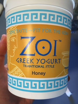 Greek Yogurt: honey - Product