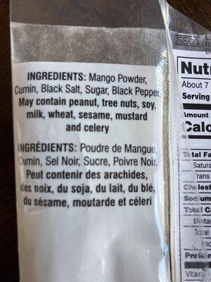 Bansi Jeera Goli - Ingredients - en