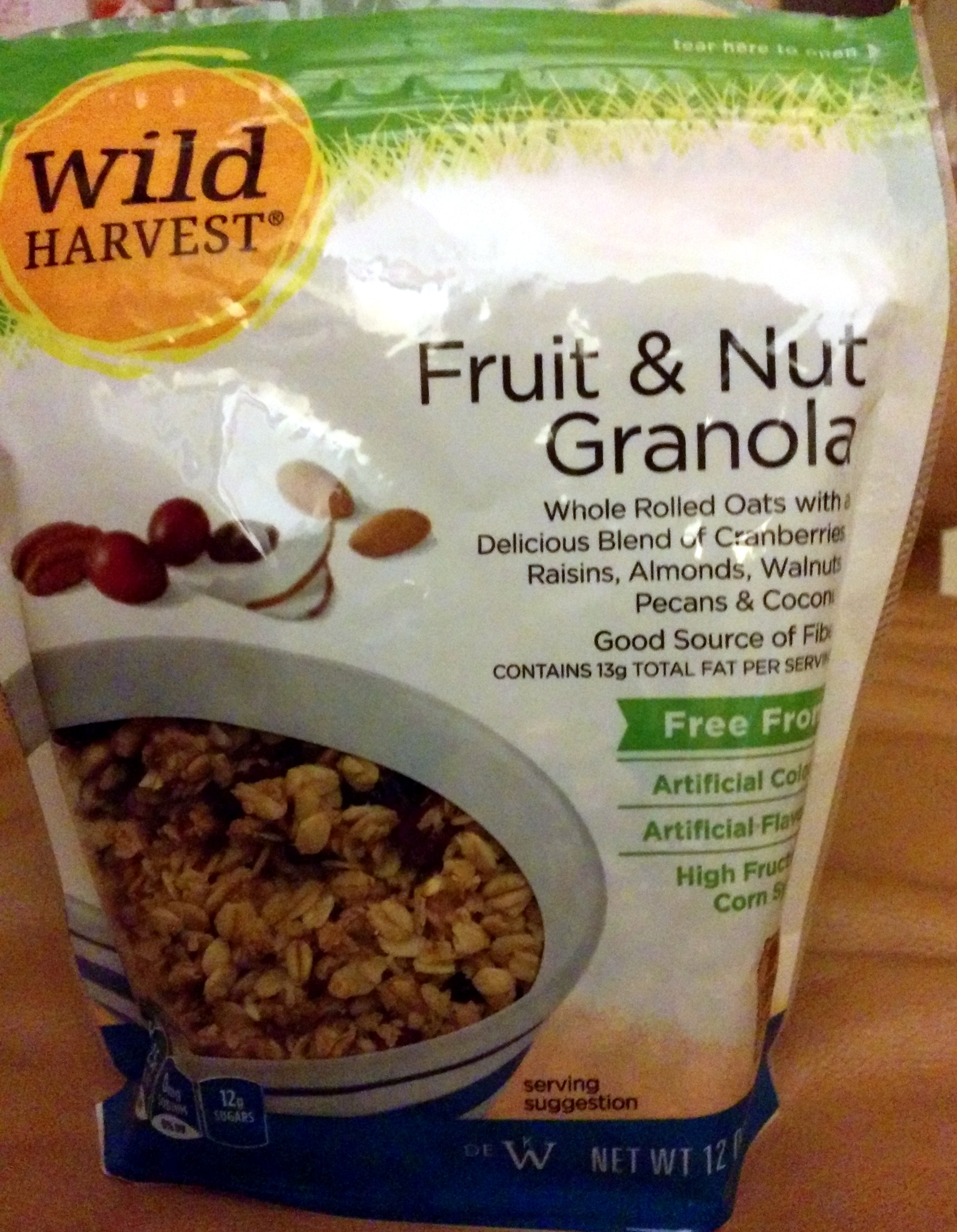 Fruit & Nut Granola - Product