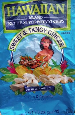 Sweet & Tangy Ginger potatoe chips - Product - en