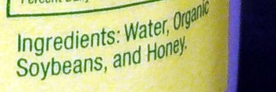 Honey Soy Drink - Ingredients