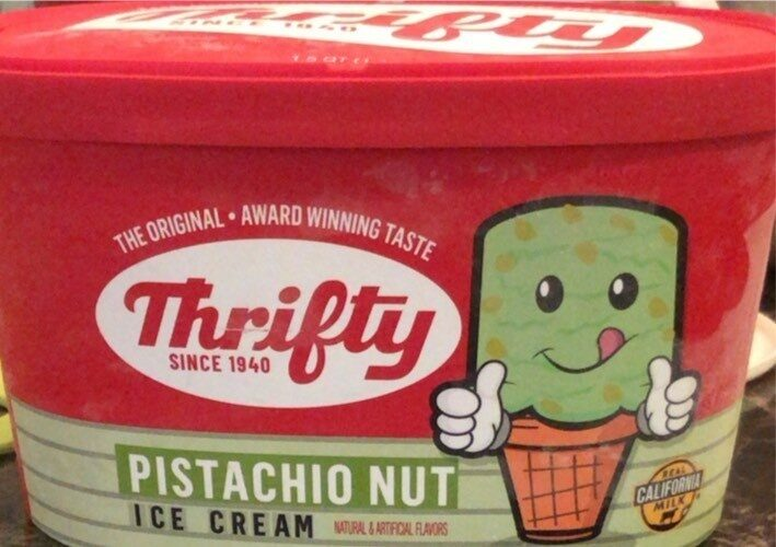 pistachio nut ice cream - Prodotto - en