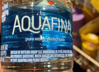Purified water - Información nutricional - en