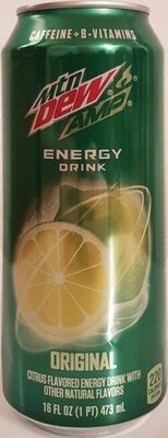 Amp energy boost original citrus energy drink - Product - en