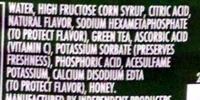Citrus Green Tea - Ingredients - en