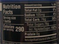 Voltage soda - Nutrition facts - fr