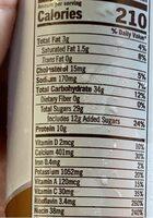 Double shot energy drink - Nutrition facts - en