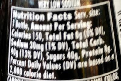 Pepsi - Nutrition facts - en