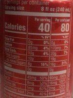 Mtn dew kick start energizing fruit punch - Voedingswaarden - fr