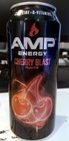 Amp Energy Cherry Blast - Produit
