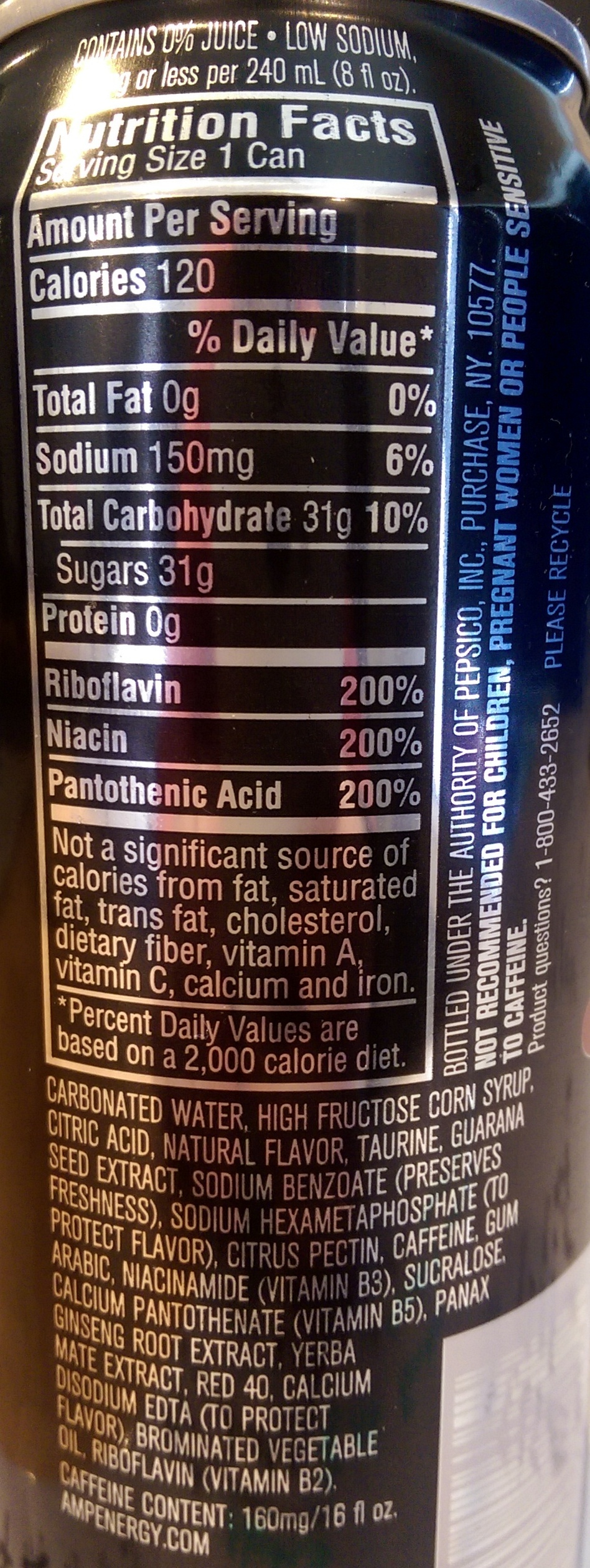 Drinks Acid In Food