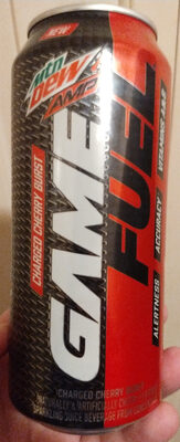 Mtn Dew Game Fuel Amp: Charged Cherry Burst - Product