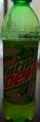 Diet Mountain Dew - Product - en