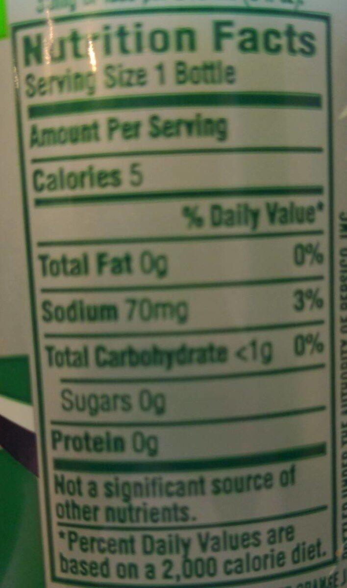 Diet Mountain Dew - Nutrition facts - en