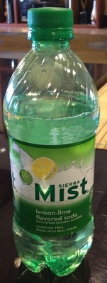 Lemon-lime flavored soda - Product