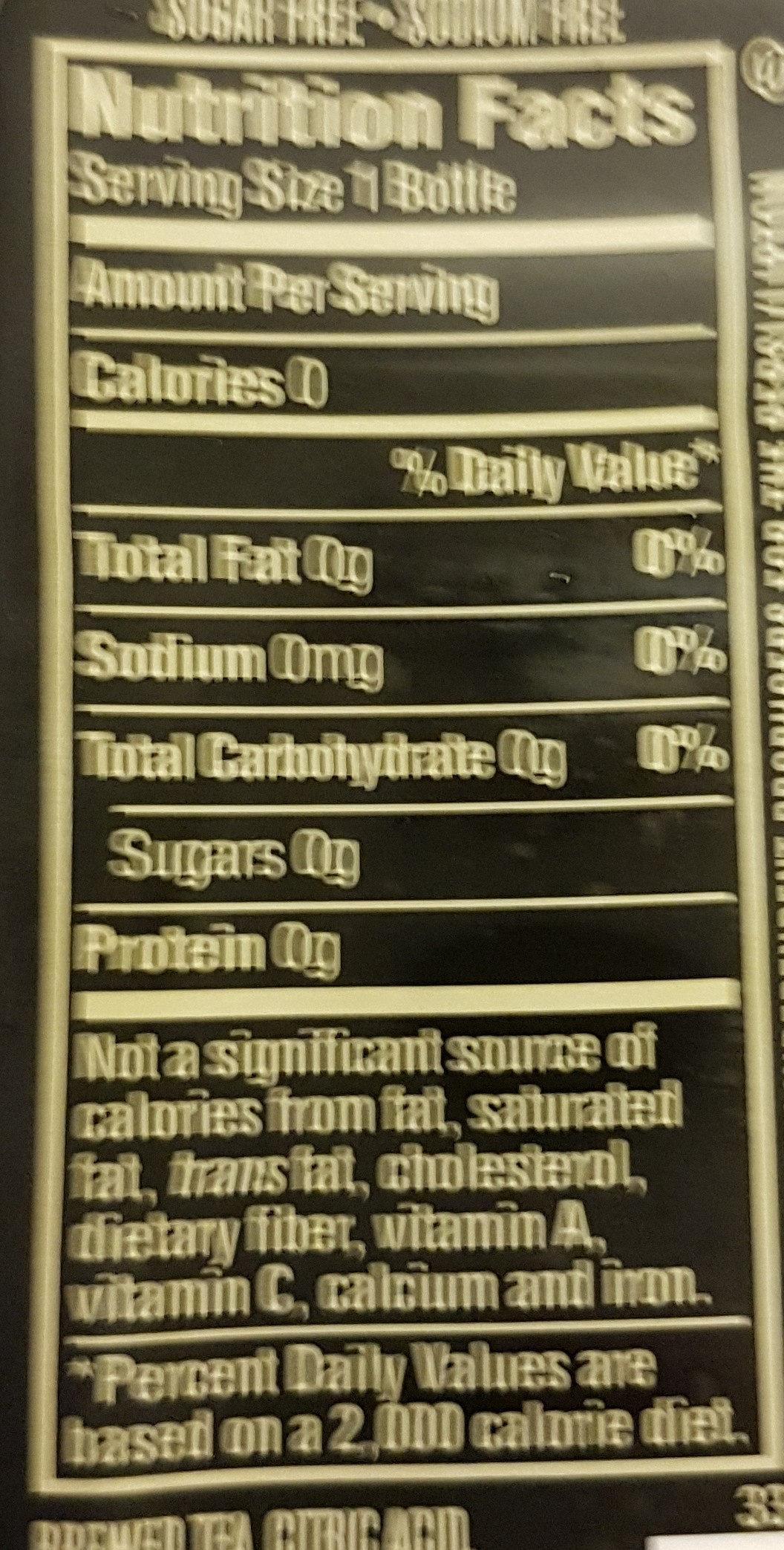 Pure Leaf Unsweetened No Lemon Iced Tea 18.5 Fluid Ounce Plastic Bottle - Ingredients - en