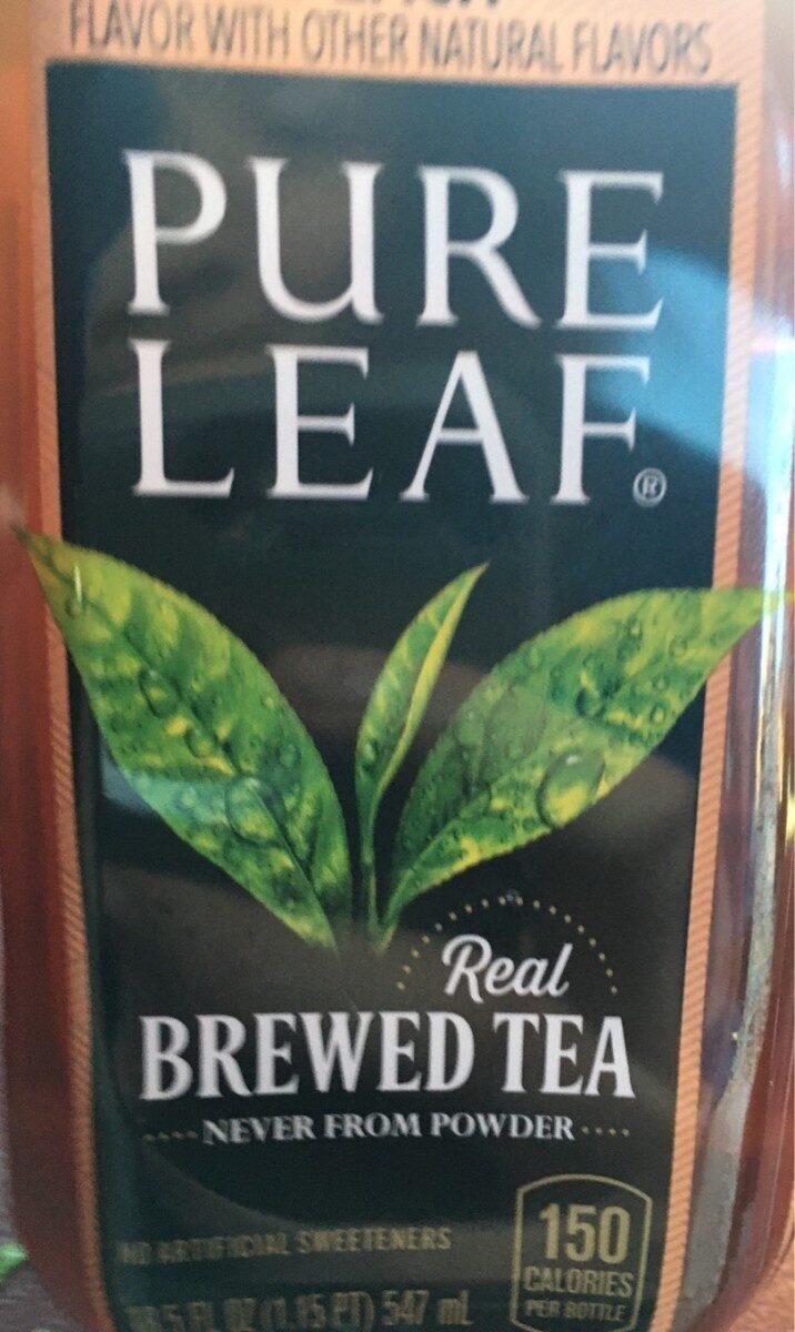 Real brewed tea peach - Product - en