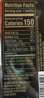 Real brewed tea peach - Nutrition facts - en