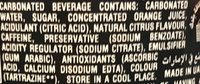 Mountain Dew - Ingredients - fr
