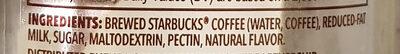 Frappuccino - Ingredients - en