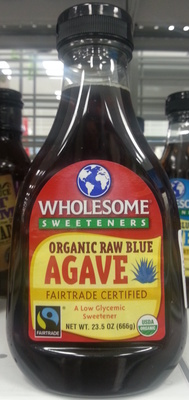Organic Raw Blue Agave - Product