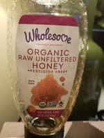 Organic Raw Unfiltered Honey - Product