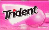 Trident Bubblegum Single - Produit - fr