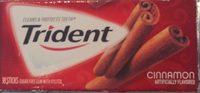 Wholesale Trident 18 Count Sugar Free Cinnamon Gum(24x$1.00) 18.00-ct - Product