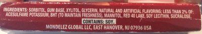Wholesale Trident 18 Count Sugar Free Cinnamon Gum(24x$1.00) 18.00-ct - Ingrediënten