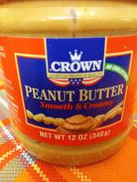 Crown Butter Smooth & Creamy Peanut Butter - Ingredienti - fr