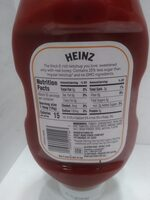 Tomato Ketchup sweetened with honey - Nutrition facts - en