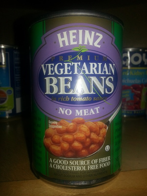 Premium vegetarian beans in rich tomato sauce - Product