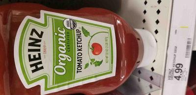 Tomato ketchup, tomato - Produit - en
