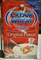 Cream of Wheat Instant hot cereal original flavor - Product - en